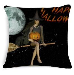 Unique Halloween Print Cushion Covers Cu26