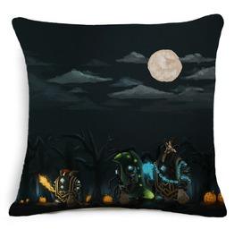 Unique Halloween Print Cushion Covers Cu27