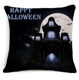 Unique Halloween Print Cushion Covers Cu32