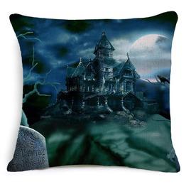 Unique Halloween Print Cushion Covers Cu34