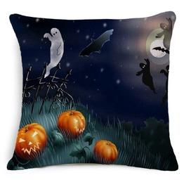 Unique Halloween Print Cushion Covers Cu37