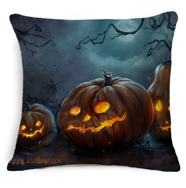 Unique Halloween Print Cushion Covers Cu39