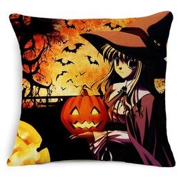 Unique Halloween Print Cushion Covers Cu41