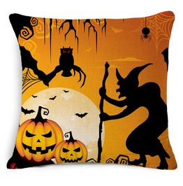 Unique Halloween Print Cushion Covers Cu43