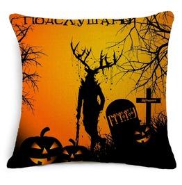 Unique Halloween Print Cushion Covers Cu45