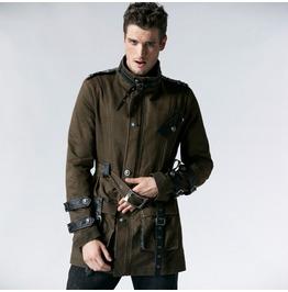 Men's Military Style Winter Coat Y 532