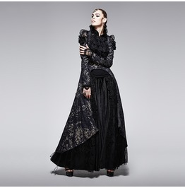 Punk Rave Women's Gothic Swallow Tail Coat Dress Y 567