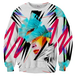 Pop Art Face Sweater From Mr. Gugu & Miss Go