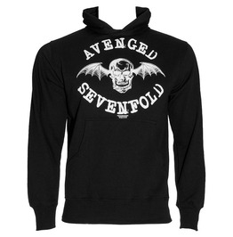 Avenged Sevenfold Hooded Sweatshirt Official A7 X Dearth Bat Logo Hoodie