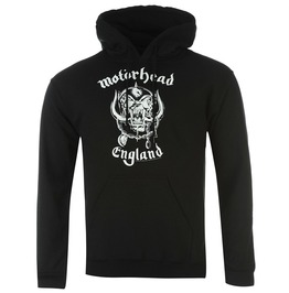 Motorhead Hooded Sweatshirt Official England Warpig Logo Hoodie