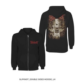 Slipknot Hooded Sweatshirt Official Skull Teeth Zip Hoodie