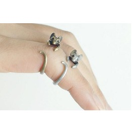 Little Mouse Ring Animal Ring