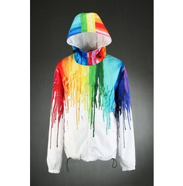 Melting Color Wind Breaker