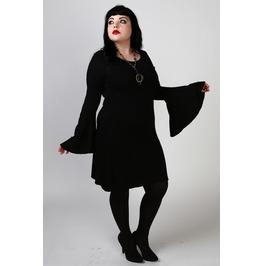 Black Magic Woman Plus Sized Dress