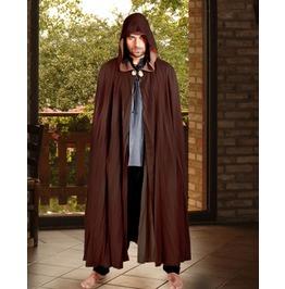 Unisex Reversible Medieval Cloak Cosplay Cape Halloween Costume