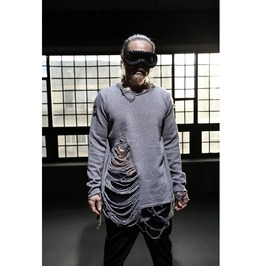 Hard Core Damage Damage Knit Tee Sweaters