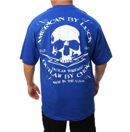 Outlaw Tee Blue