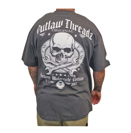 Original Outlaw Charboal Tee