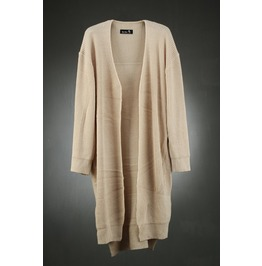 Loose Fit Open Knit Cardigan