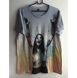 Ozzy Pop Rock Indie Fashion Tie Dye T Shirt L