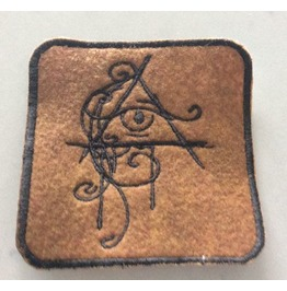 The All Seeing Eye Embroidered Iron/Sew On Patch