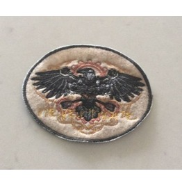 Embroidered Steampunk Mechanical Raven Patch