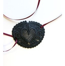 Handmade Fsl Lace Pirate Eye Patch Great For Cosplay Or Halloween Costume