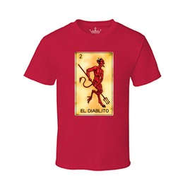 "Men's ""El Diablito"" 100% Cotton Tee"