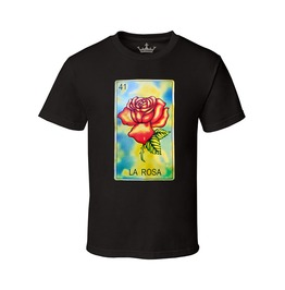 Rebelsmarket mens la rosa 100 cotton tee t shirts 5