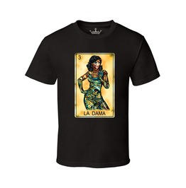 "Men's ""La Dama"" 100% Cotton Tee"