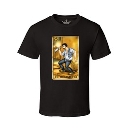 "Men's ""El Borracho"" 100% Cotton Tee"