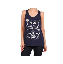 Oujia Pizza Tank Top Womens Occult Tank Tops Clothing With Pizza