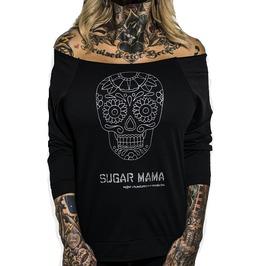 Plus Size Sugar Mama 3/4 Sleeve Raglan