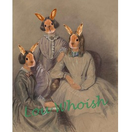 Bronte Bunny Sisters Mixed Media