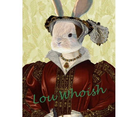 Tudor Rabbit Catherine Parr Mixed Media_Artprints_2.jpg