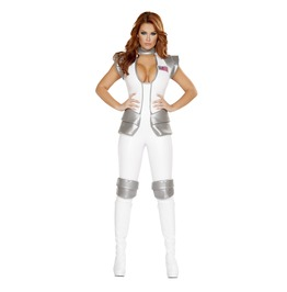 1 Pc Space Girl Sexy Astronaut Cosplay Fetish Halloween Costume