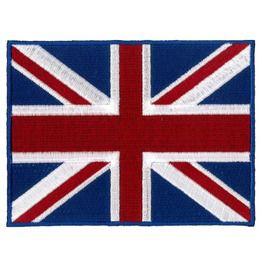 "Union Jack (Gt Britain) Embroidered Patch 12cm X 9cm"" (Large)"