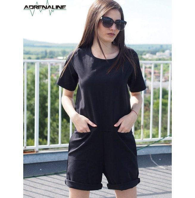 browse latest collections 2019 discount sale beautiful style Black Short Jumpsuit/Women Short Jumpsuit/Black Short Overall