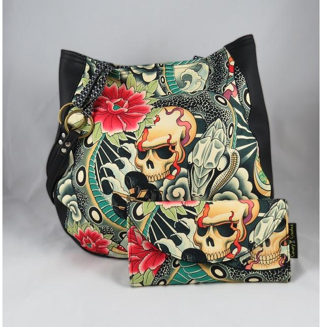 rebelsmarket_zen_charmer_purse_shoulder_charla_purse_wallet_with_black_vinyl_purses_and_handbags_7.jpg