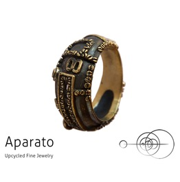 8's Brass Steampunk Ring