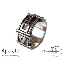 Arrow Silver Steampunk Ring