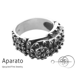 Maquina Silver Steampunk Ring Upcycled Jewelry With Timepiece