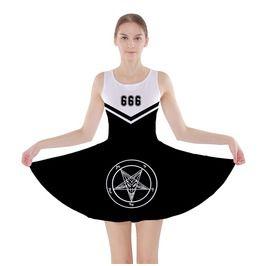 Satanic Cheer Leader Dress