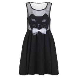 Cat Dress / Vestido Gato Wh366