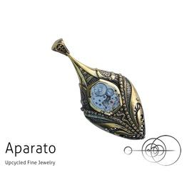 Steampunk Kunda Brass Pendant