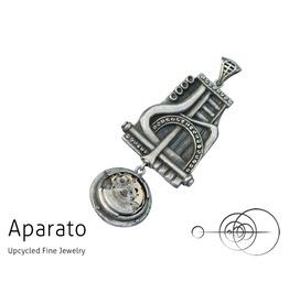 Steampunk Lapis Silver Pendant
