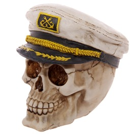 Egg N Chips London Gruesome Skull Sailor Hat Ornament