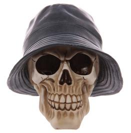 Egg N Chips London Gruesome Skull Rain Hat Ornament