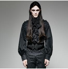 Punk Rave Unisex Gothic Velvet Lace Up Corset Belt S 188