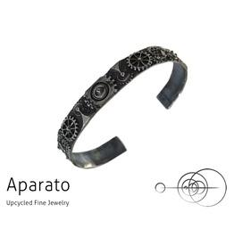 Steampunk Closed Gear Silver Bracelet